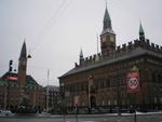 Radniční náměstí v Kodani