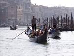 Benátky 2009 - gondoly