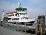 Benátky 2009 - loď na ostrov Burano