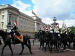 lLondýn 2009 - Buckinghamský palác