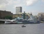 Londýn 2009 - HMS Belfast